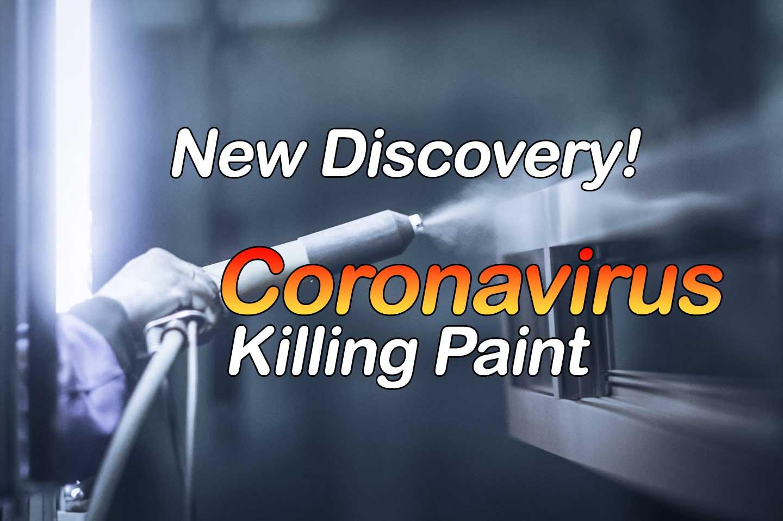 Coronavirus Killing Paint