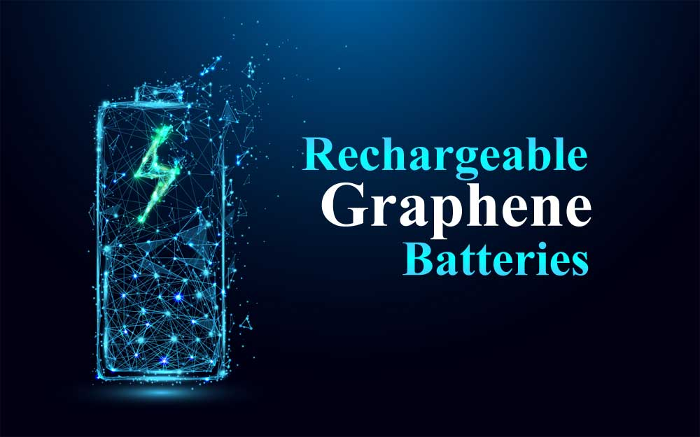 Rechargeable Graphene Batteries recharged 50 times with 94% Efficiency
